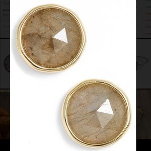 Olivia Semiprecious Stone Stud Earrings GORJANA